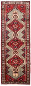 Ardabil Covor 100X283 Orientale Lucrat Manual Maro Închis/Roșu-Închis (Lână, Persia/Iran)