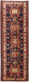 Ardabil Covor 111X318 Orientale Lucrat Manual Roșu-Închis/Negru (Lână, Persia/Iran)