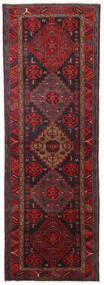 Hamadan Covor 104X309 Orientale Lucrat Manual Roșu-Închis/Negru (Lână, Persia/Iran)