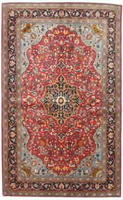 Sarouk Covor 133X217 Orientale Lucrat Manual Roșu-Închis/Negru (Lână, Persia/Iran)