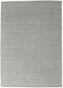 Chilim Loom - Gri Covor 140X200 Modern Lucrate De Mână Albastru Turcoaz/Gri Deschis (Lână, India)