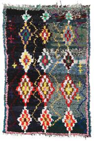 Berber Moroccan - Boucherouite Covor 165X250 Modern Lucrat Manual Gri Închis/Gri Deschis ( Maroc)
