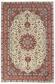 Kashmar Covor 203X303 Orientale Lucrat Manual Bej/Gri Închis (Lână, Persia/Iran)