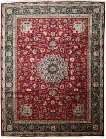 Tabriz Covor 301X403 Orientale Lucrat Manual Roșu-Închis/Negru Mare (Lână, Persia/Iran)
