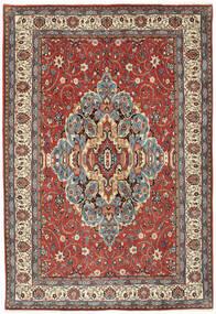 Sarouk Covor 200X296 Orientale Lucrat Manual Roșu-Închis/Gri Deschis (Lână, Persia/Iran)