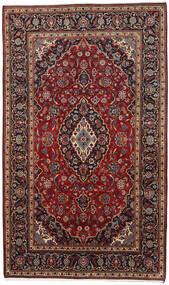 Kashan Covor 178X294 Orientale Lucrat Manual Roșu-Închis/Maro Închis (Lână, Persia/Iran)