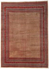 Sarouk Mir Covor 289X399 Orientale Lucrat Manual Maro Închis/Roșu-Închis Mare (Lână, Persia/Iran)
