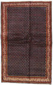 Sarouk Mir Covor 128X203 Orientale Lucrat Manual Gri Închis/Roșu-Închis (Lână, Persia/Iran)