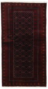 Beluch Covor 105X193 Orientale Lucrat Manual Roșu-Închis (Lână, Persia/Iran)