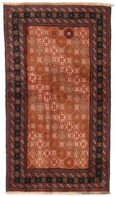 Beluch Covor 100X172 Orientale Lucrat Manual Roşu/Negru (Lână, Persia/Iran)