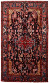 Nahavand Covor 150X256 Orientale Lucrat Manual Roșu-Închis/Negru (Lână, Persia/Iran)