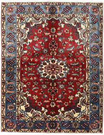 Nahavand Covor 155X200 Orientale Lucrat Manual Roșu-Închis/Maro Închis (Lână, Persia/Iran)