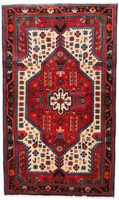 Nahavand Covor 112X188 Orientale Lucrat Manual Roșu-Închis/Maro Închis (Lână, Persia/Iran)