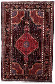 Toiserkan Covor 107X170 Orientale Lucrat Manual Roșu-Închis/Maro Închis (Lână, Persia/Iran)