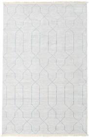 Bamboo Mătase Handloom Covor 160X230 Modern Lucrat Manual Bej/Gri Deschis/Bej-Crem ( India)