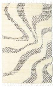 Barchi/Moroccan Berber - Indo Covor 160X230 Modern Lucrat Manual Bej-Crem/Bej (Lână, India)