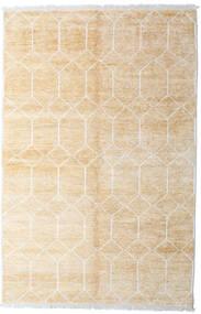 Bamboo Mătase Handloom Covor 160X230 Modern Lucrat Manual Bej/Bej-Crem ( India)