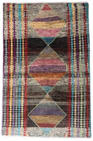 Moroccan Berber - Afghanistan Covor 113X174 Modern Lucrat Manual Gri Închis/Gri Deschis (Lână, Afganistan)