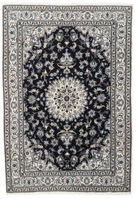 Nain Covor 167X243 Orientale Lucrat Manual Negru/Gri Închis (Lână, Persia/Iran)