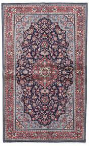 Sarouk Sherkat Farsh Covor 130X208 Orientale Lucrat Manual Mov Închis/Gri Deschis (Lână, Persia/Iran)
