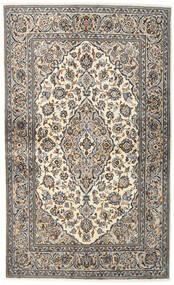 Kashan Covor 133X218 Orientale Lucrat Manual Gri Deschis/Gri Închis (Lână, Persia/Iran)