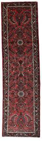 Hamadan Covor 77X280 Orientale Lucrat Manual Roșu-Închis/Maro Închis (Lână, Persia/Iran)