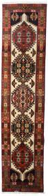 Ardabil Covor 66X288 Orientale Lucrat Manual Maro Închis/Roșu-Închis (Lână, Persia/Iran)