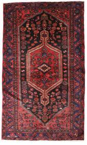 Hamadan Covor 132X224 Orientale Lucrat Manual Roșu-Închis/Maro Închis (Lână, Persia/Iran)