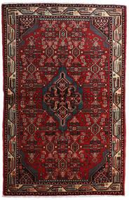 Asadabad Covor 108X169 Orientale Lucrat Manual Roșu-Închis/Maro Închis (Lână, Persia/Iran)