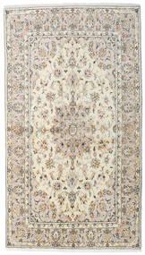 Kashan Covor 136X242 Orientale Lucrat Manual Gri Deschis/Bej (Lână, Persia/Iran)