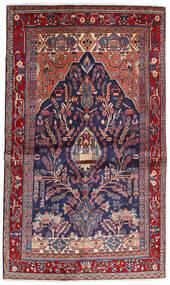 Sarouk Sherkat Farsh Covor 130X211 Orientale Lucrat Manual Roșu-Închis/Mov Închis (Lână, Persia/Iran)