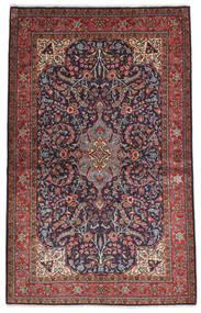 Sarouk Sherkat Farsh Covor 130X207 Orientale Lucrat Manual Roșu-Închis/Negru (Lână, Persia/Iran)