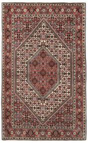 Bidjar Covor 113X175 Orientale Lucrat Manual Maro Închis/Roșu-Închis (Lână, Persia/Iran)