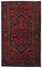 Hamadan Covor 134X226 Orientale Lucrat Manual Roșu-Închis (Lână, Persia/Iran)