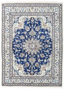 Nain Covor 150X208 Orientale Lucrat Manual Bej/Gri Deschis (Lână, Persia/Iran)