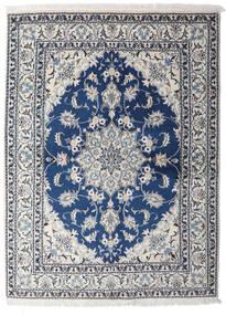 Nain Covor 153X206 Orientale Lucrat Manual Gri Deschis/Albastru Închis (Lână, Persia/Iran)