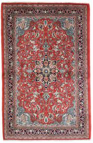 Sarouk Covor 108X165 Orientale Lucrat Manual Ruginiu/Mov Închis (Lână, Persia/Iran)
