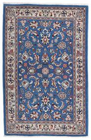 Kashmar Covor 105X160 Orientale Lucrat Manual Gri Deschis/Albastru Închis (Lână, Persia/Iran)