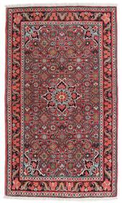 Bidjar Covor 84X134 Orientale Lucrat Manual Maro Închis/Roșu-Închis (Lână, Persia/Iran)
