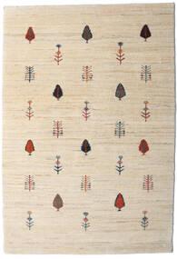Loribaft Persia Covor 104X151 Modern Lucrat Manual Bej/Gri Deschis (Lână, Persia/Iran)