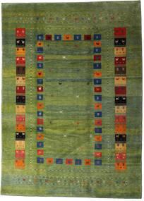 Loribaft Persia Covor 210X291 Modern Lucrat Manual Verde Oliv/Verde Închis (Lână, Persia/Iran)