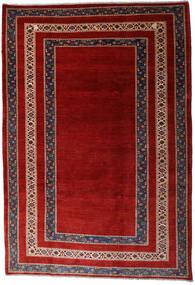 Loribaft Persia Covor 213X310 Modern Lucrat Manual Roșu-Închis/Ruginiu (Lână, Persia/Iran)