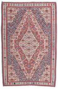 Chilim Senneh Covor 148X225 Orientale Lucrate De Mână Gri Închis/Gri Deschis (Lână, Persia/Iran)