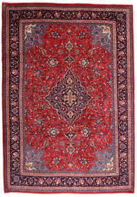Mahal Covor 225X327 Orientale Lucrat Manual Roşu/Mov Închis (Lână, Persia/Iran)