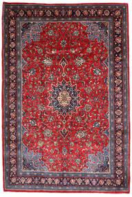 Mahal Covor 220X330 Orientale Lucrat Manual Mov Închis/Roșu-Închis (Lână, Persia/Iran)