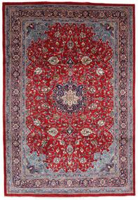 Mahal Covor 220X325 Orientale Lucrat Manual Roșu-Închis/Roşu Închis (Lână, Persia/Iran)