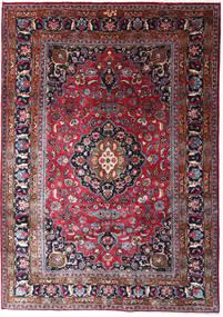 Mashhad Covor 205X290 Orientale Lucrat Manual Albastru Închis/Mov Închis (Lână, Persia/Iran)