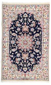 Kashmar Covor 77X130 Orientale Lucrat Manual Bej-Crem/Gri Deschis (Lână, Persia/Iran)