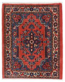Sarouk Covor 67X80 Orientale Lucrat Manual Roșu-Închis/Ruginiu (Lână, Persia/Iran)