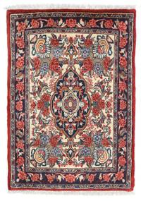 Sarouk Covor 57X81 Orientale Lucrat Manual Roșu-Închis/Gri Închis (Lână, Persia/Iran)